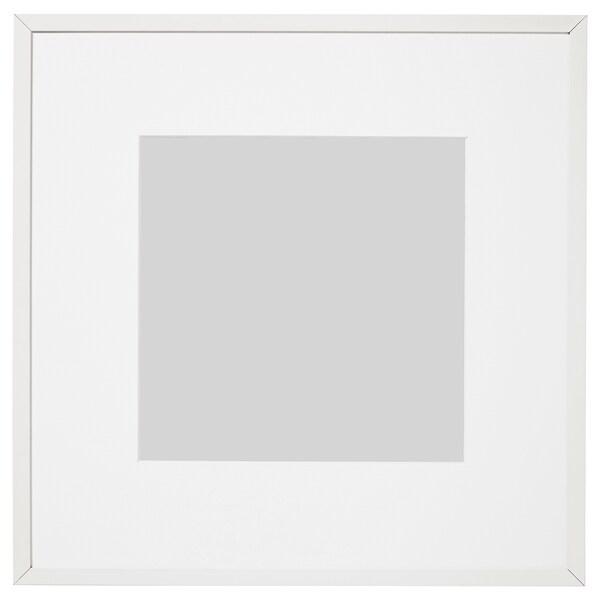 LOMVIKEN ロムヴィーケン フレーム, ホワイト, 32x32 cm