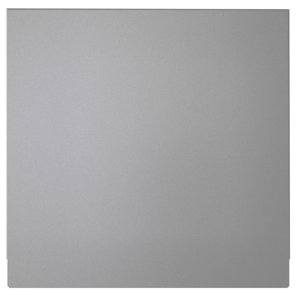 LUFTIG ルフティグ 横幕板 レンジフード用, シルバーカラー, 30x29 cm