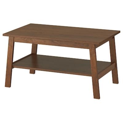 LUNNARP ルンナルプ コーヒーテーブル, ブラウン, 90x55 cm