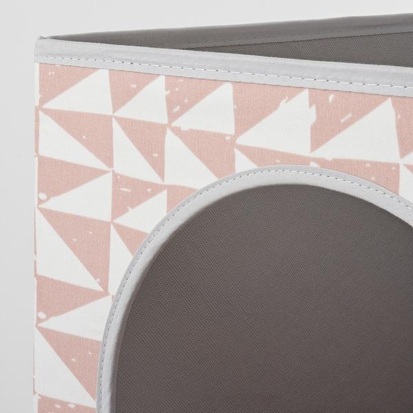 LURVIG ルールヴィグ キャットハウス, ピンク, 33x38x33 cm