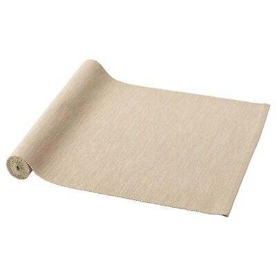 MÄRIT メーリット テーブルランナー, ベージュ, 35x130 cm