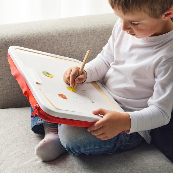 MÅLA モーラ ポータブルお絵描きケース, レッド, 35x27 cm