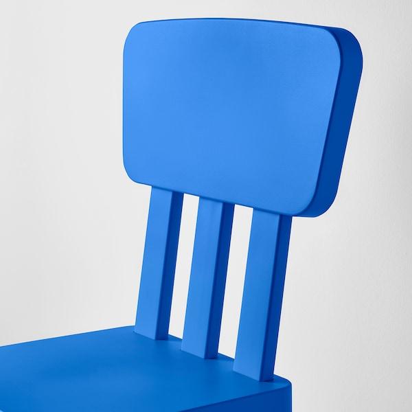 MAMMUT マンムット 子ども用チェア, 室内/屋外用/ブルー