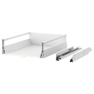 MAXIMERA マキシメーラ 食器洗い乾燥機用スライド式収納キャビネット, ホワイト, 45x37 cm