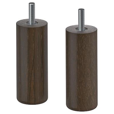 MEJARP メヤルプ 脚, ダークブラウン, 10 cm