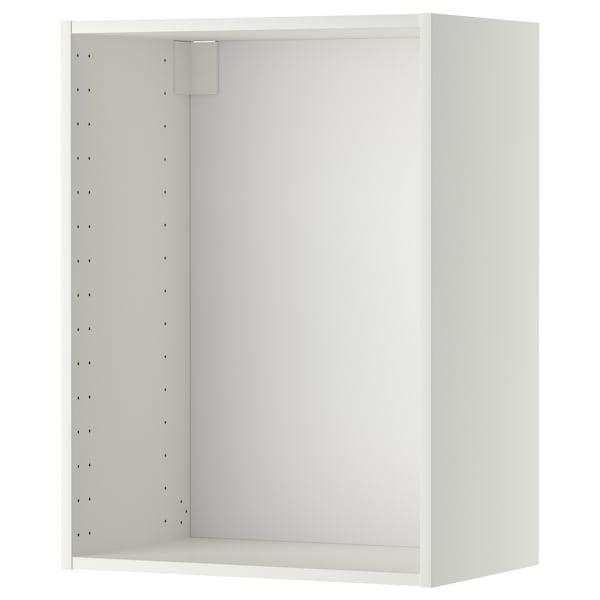 METOD メトード ウォールキャビネット フレーム, 60x37x80 cm