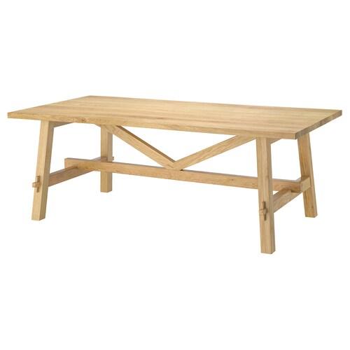 モッケルビー テーブル オーク 140 cm 79 cm 74 cm