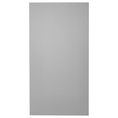 MOLNFRITT モールンフリット 横幕板 レンジフード用, シルバーカラー, 67x37 cm