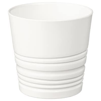 MUSKOT ムスコット 鉢カバー, ホワイト, 9 cm
