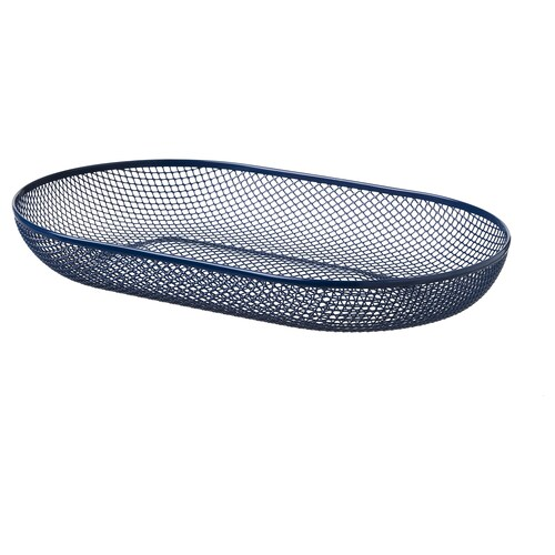 ネートヴェルク サービングバスケット ブルー 33 cm 20 cm 5 cm