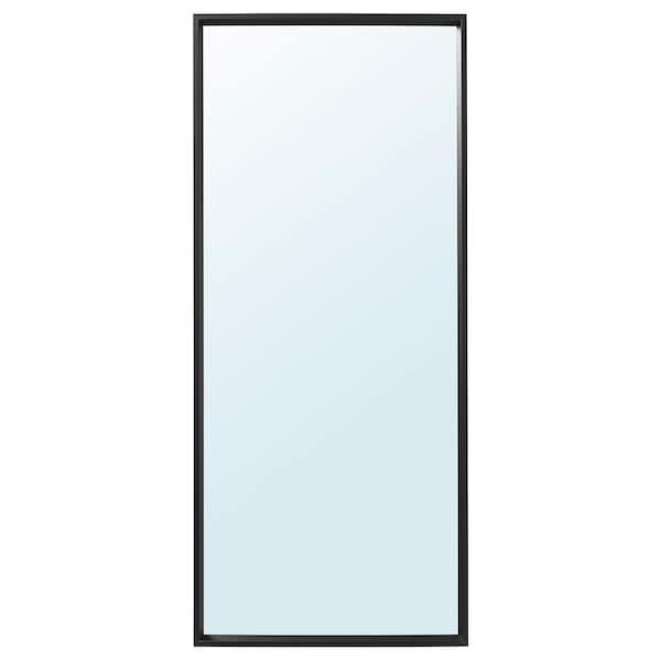 NISSEDAL ニッセダール ミラー, ブラック, 65x150 cm
