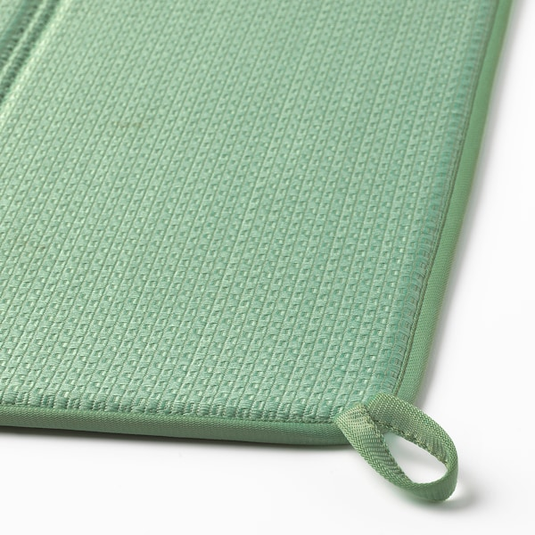 NYSKÖLJD ニーショリド 食器用水切りマット, グリーン, 44x36 cm