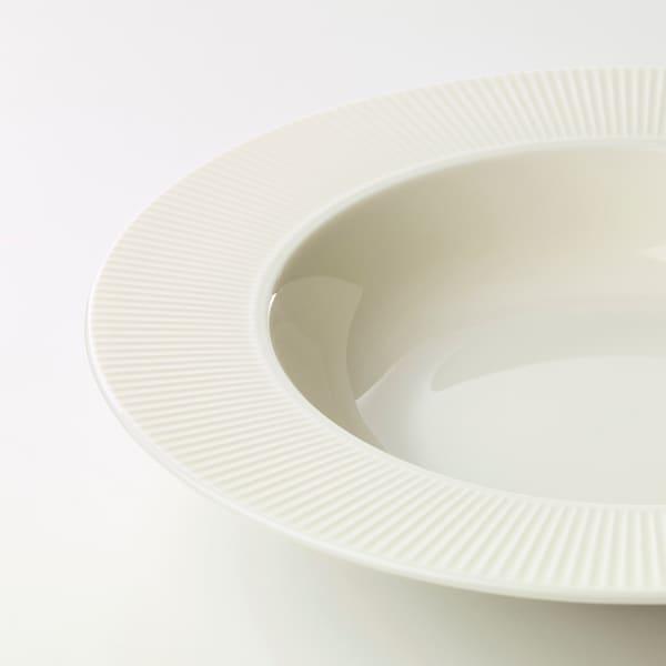 OFANTLIGT オファントリグト 深皿, ホワイト, 24 cm