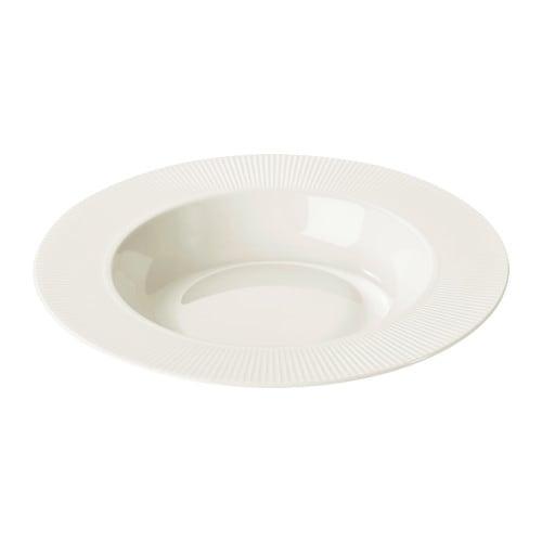 OFANTLIGT 深皿 IKEA 耐久性と耐衝撃性に優れた長石磁器製