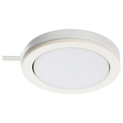 OMLOPP オムロップ LEDスポットライト, ホワイト, 6.8 cm