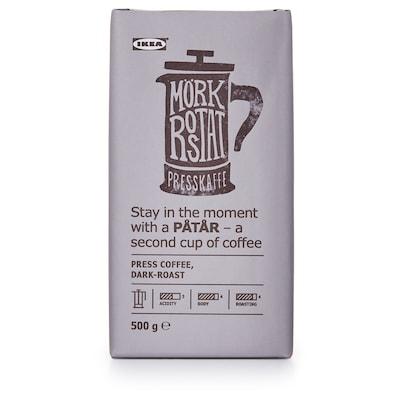 PÅTÅR ポートール プレスコーヒー、ダークロースト, UTZ認証/アラビカ豆100%