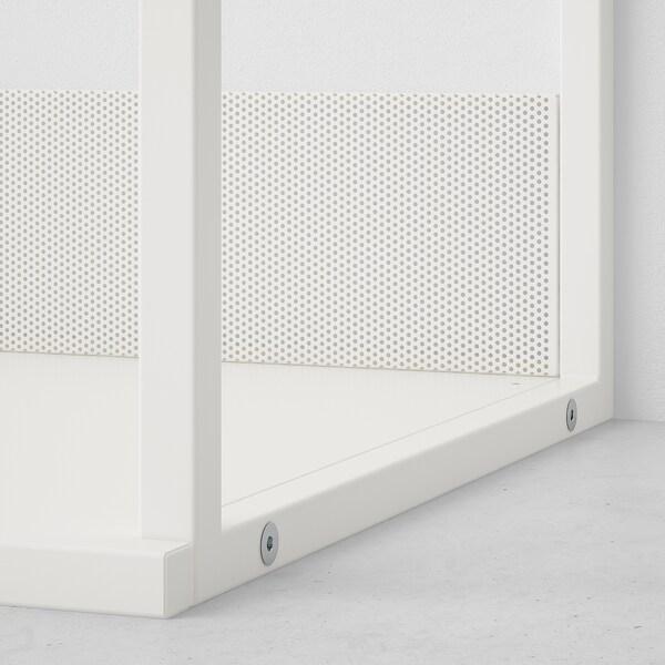 PLATSA プラッツァ オープン靴収納ユニット, ホワイト, 80x40x120 cm