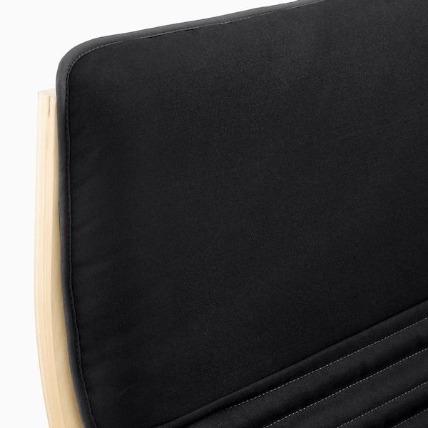 POÄNG ポエング パーソナルチェア, バーチ材突き板/クニーサ ブラック