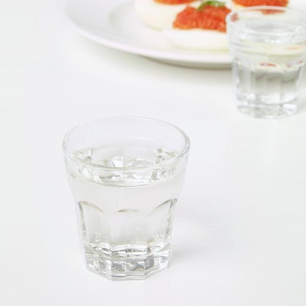 ポカール スナップスグラス クリアガラス 5 cm 5 cl 6 ピース