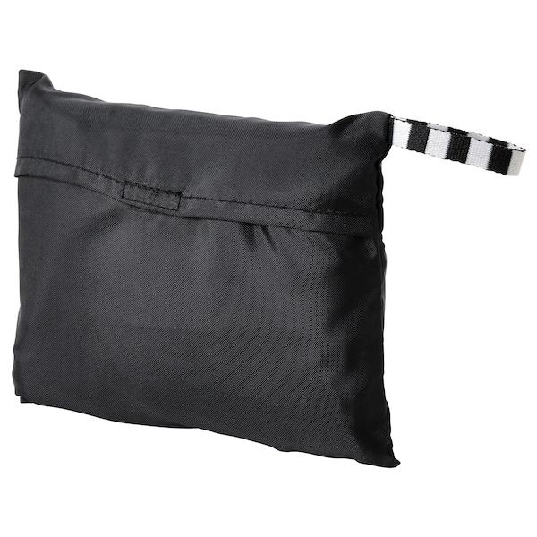 RÄCKLA レックラ バッグ 折りたたみ式, ブラック, 48x36 cm/20 l