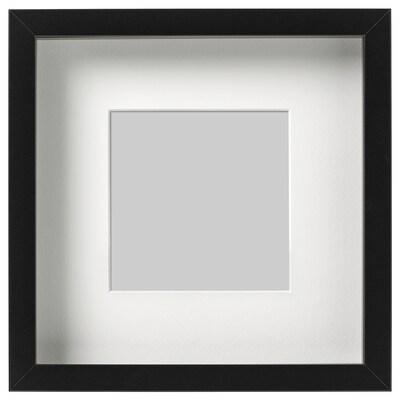 リッバ フレーム, ブラック, 23x23 cm