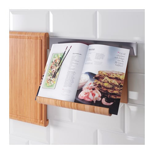 IKEAの竹製タブレットスタンドRIMFORSAがおしゃれ!雑誌も置けます!