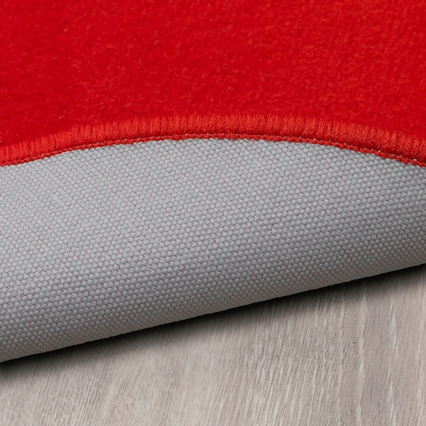 リスゴルデ ラグ パイル短 レッド 70 cm 1110 g/m² 450 g/m² 6 mm 0.38 m²