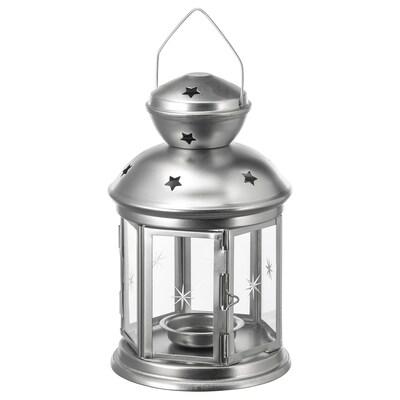 ROTERA ロテーラ ティーライト用ランタン, 室内/屋外用 亜鉛メッキ, 21 cm
