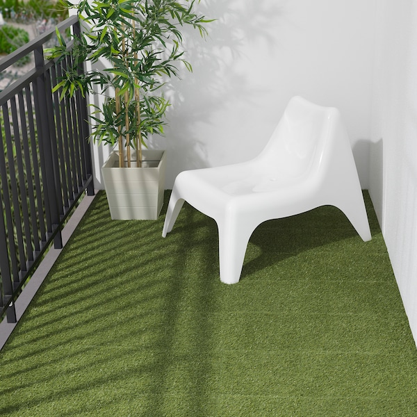 RUNNEN ルッネン フロアデッキ 屋外用, 人工芝, 0.81 m²