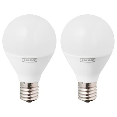 RYET リーエト LED電球 E17 440ルーメン, 球形 オパールホワイト