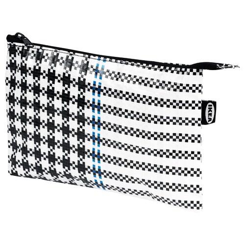 サッマンコップラ ポーチ ブラック/ホワイト 24 cm 15.5 cm