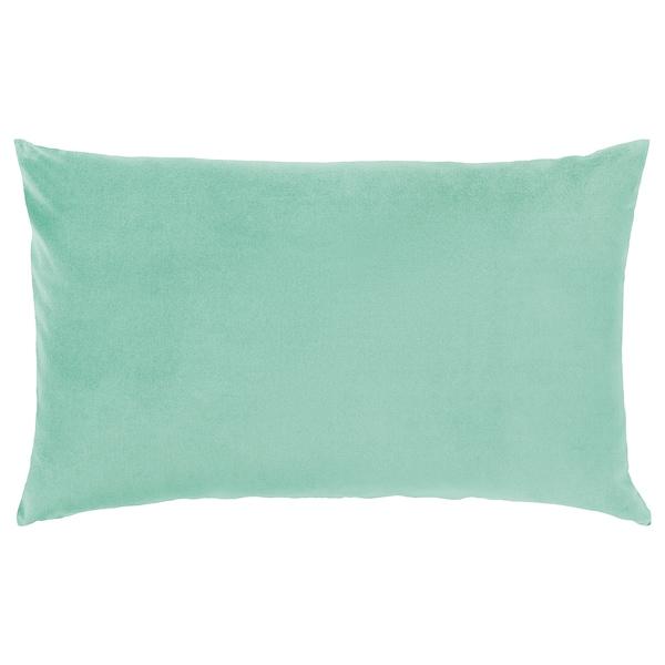SANELA サネーラ クッションカバー, ライトグリーン, 40x65 cm