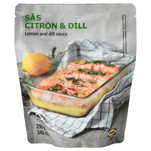SÅS CITRON & DILL レモン&ディルソース 250 g