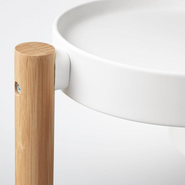 SATSUMAS サッツマス プラントスタンド, 竹/ホワイト, 78 cm