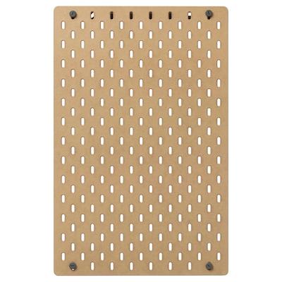 SKÅDIS スコーディス 有孔ボード, 木製, 36x56 cm