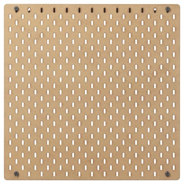 SKÅDIS スコーディス 有孔ボード, 木製, 56x56 cm