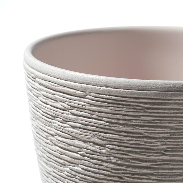 SKAKIG スカーキグ 植木鉢, ホワイト, 12 cm