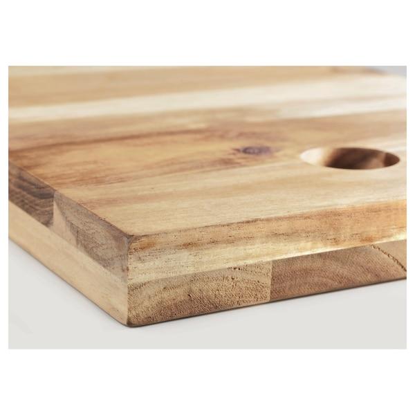 SKOGSTA スコグスタ まな板, アカシア材, 35x20 cm