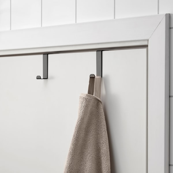SKOGSVIKEN スコグスヴィーケン ドア用フック, ブラック