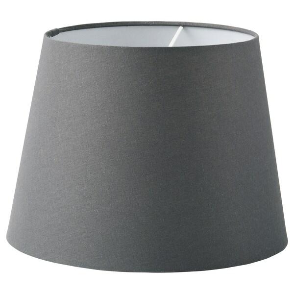 SKOTTORP スコットルプ ランプシェード, グレー, 33 cm