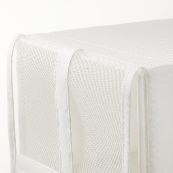 SKUBB スクッブ シューズボックス, ホワイト, 22x34x16 cm