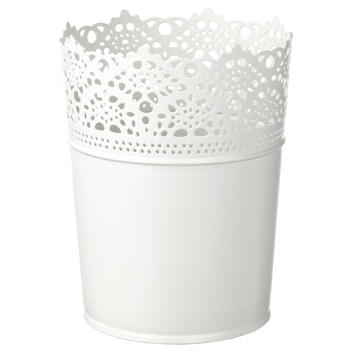 スクラール 鉢カバー 室内/屋外用/オフホワイト 15 cm 12 cm 10.5 cm 12 cm