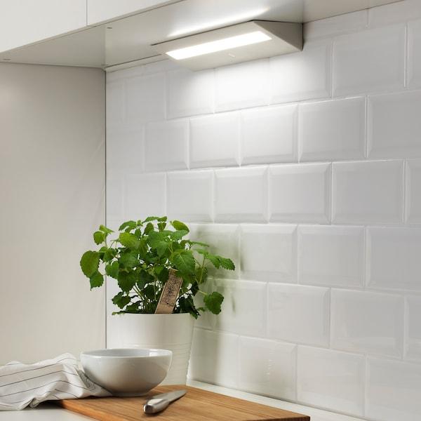 SLAGSIDA スラグシダ LEDワークトップ照明, ホワイト, 40 cm