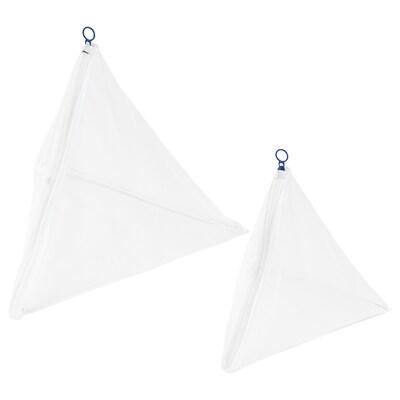 SLIBB スリッブ 洗濯ネット2点セット, ホワイト