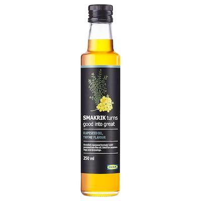 スマークリーク 菜種油, タイム, 250 ml