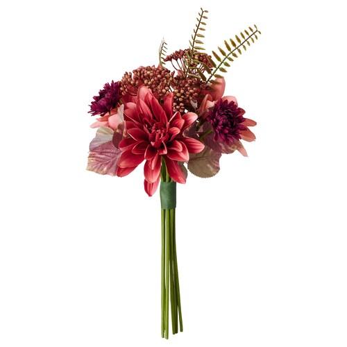 スミッカ 造花のブーケ 室内/屋外用 ダリア 42 cm