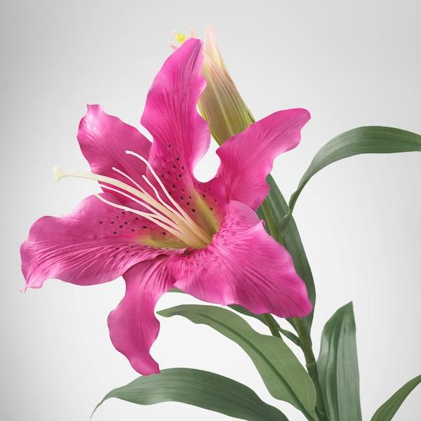 スミッカ 造花, ユリ/ピンク, 85 cm