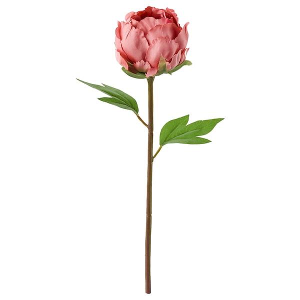 SMYCKA スミッカ 造花, ボタン/ダークピンク, 30 cm