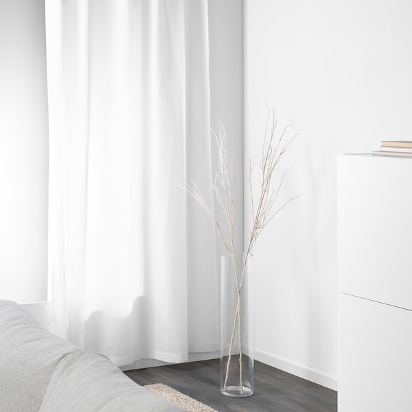 SMYCKA スミッカ 人工の小枝, ホワイト, 160 cm