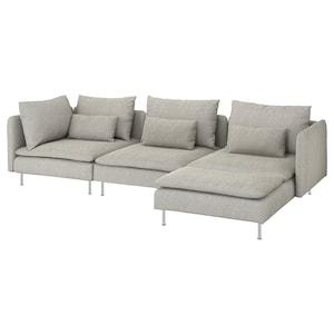 カバー: 寝椅子付き/ヴィーアルプ ベージュ/ブラウン.